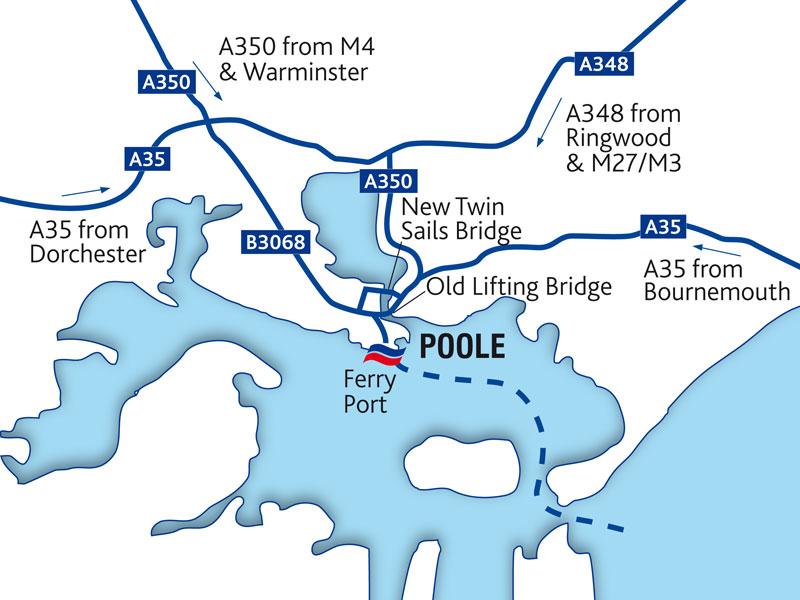 Guide Du Port De Poole Brittany Ferries