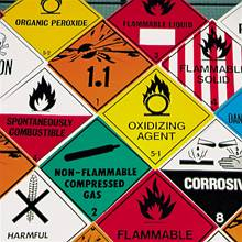 Hazardous cargo signs